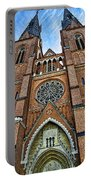 Uppsala Cathedral - Sweden Portable Battery Charger
