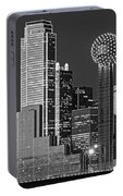 Usa, Texas, Dallas, Panoramic View Portable Battery Charger