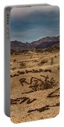 Valley Of The Names Portable Battery Charger by Robert Bales