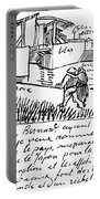 Van Gogh Letter, 1888 Portable Battery Charger