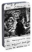 Van Gogh Letter Portable Battery Charger
