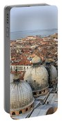 Terracotta Skyline Venice Italy Portable Battery Charger