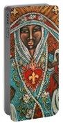 Vierge Noire De Paris Portable Battery Charger