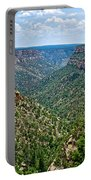 View From Sun Temple In Mesa Verde National Park-colorado  Portable Battery Charger