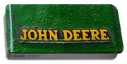 Vintage John Deere Tractor Portable Battery Charger
