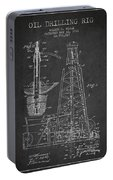 Vintage Oil Drilling Rig Patent From 1911 Portable Battery Charger