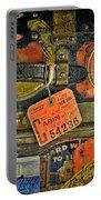 Vintage Steamer Trunk Portable Battery Charger