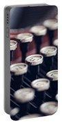Vintage Typewriter Keys Portable Battery Charger