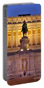 Vittorio Emanuele - Rome Portable Battery Charger
