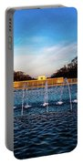 Washington D.c. - Fountains And World Portable Battery Charger