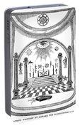 Washington Masonic Apron Portable Battery Charger