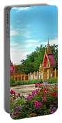 Wat Tha Sung Temple In Uthaithani-thailand Portable Battery Charger