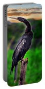 Water Turkey Portable Battery Charger by Gary Keesler