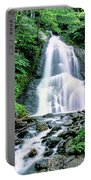 Waterfall In A Forest, Moss Glen Falls Portable Battery Charger