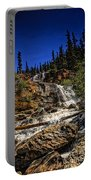 Waterfall In Jasper 1 Portable Battery Charger