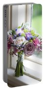 Wedding Bouquet Near A Window Portable Battery Charger
