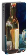 Wedding Cake Wine Night Portable Battery Charger