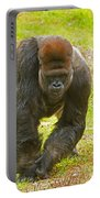 Western Lowland Gorilla Male Portable Battery Charger