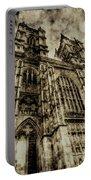 Westminster Abbey London Vintage Portable Battery Charger