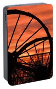 Wheel-n-axle Sunset.. Portable Battery Charger
