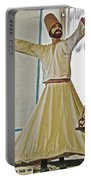 Whirling Dervish Model In Konya-turkey  Portable Battery Charger