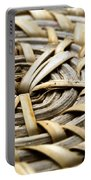Wicker Portable Battery Charger