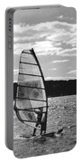 Wind Surfer Bw Portable Battery Charger