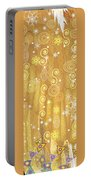 Winter Dress Detail Portable Battery Charger