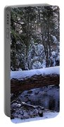 Winter Forest Stream Portable Battery Charger