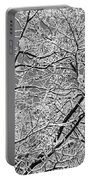 Winter Tree Scene Portable Battery Charger
