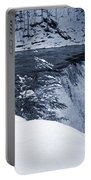 Winter Waterfall Snow Portable Battery Charger
