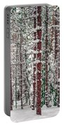 Winters Forest Portable Battery Charger