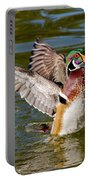 Wood Duck Drake Flapping Wings Portable Battery Charger