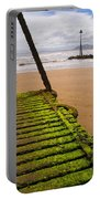Wooden Slipway Rhos On Sea Portable Battery Charger