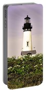 Yaquina Lighthouse In May Portable Battery Charger