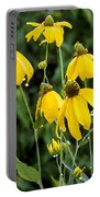 Yellow Cone Flowers Rudbeckia Portable Battery Charger