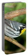 Yellow-throated Warbler Portable Battery Charger