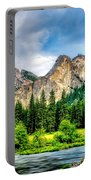 Mustard Meadow Portable Battery Charger