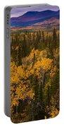 Yukon Gold - Fall In Yukon Territory Canada Portable Battery Charger