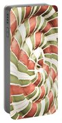 Abstract Pattern Portable Battery Charger