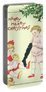 Christmas Card Portable Battery Charger by English School