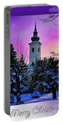 Christmas Card 23 Portable Battery Charger