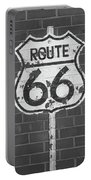 Route 66 Shield Portable Battery Charger