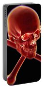 Skull And Crossbones Portable Battery Charger