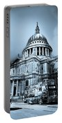 St Paul's Cathedral London Art Portable Battery Charger by David Pyatt