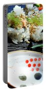 Sushi California Roll Portable Battery Charger