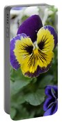 Viola Tricolor Heartsease Portable Battery Charger