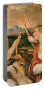 Venus Blindfolding Cupid Portable Battery Charger
