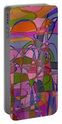 1008 Abstract Thought Portable Battery Charger