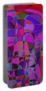 1016 Abstract Thought Portable Battery Charger